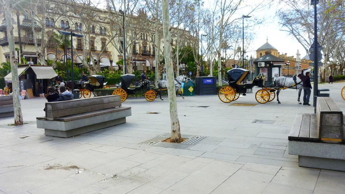 Avenida de la constitucion - Seville