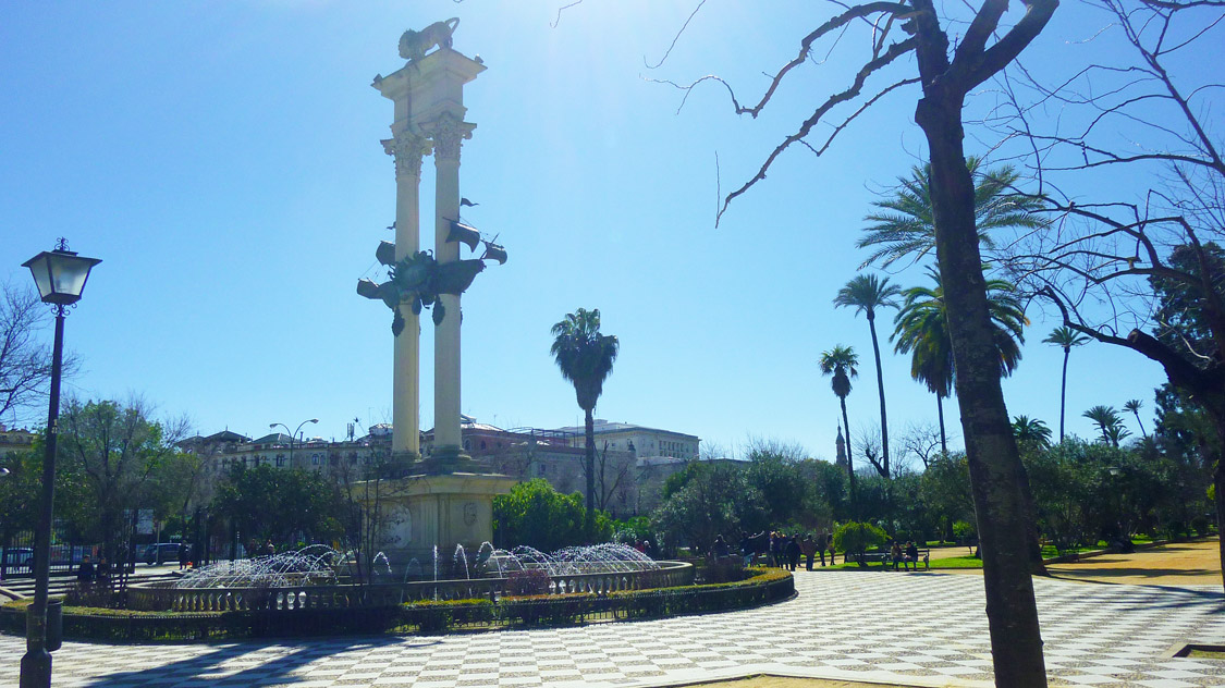 Jardin de Murillo- Séville