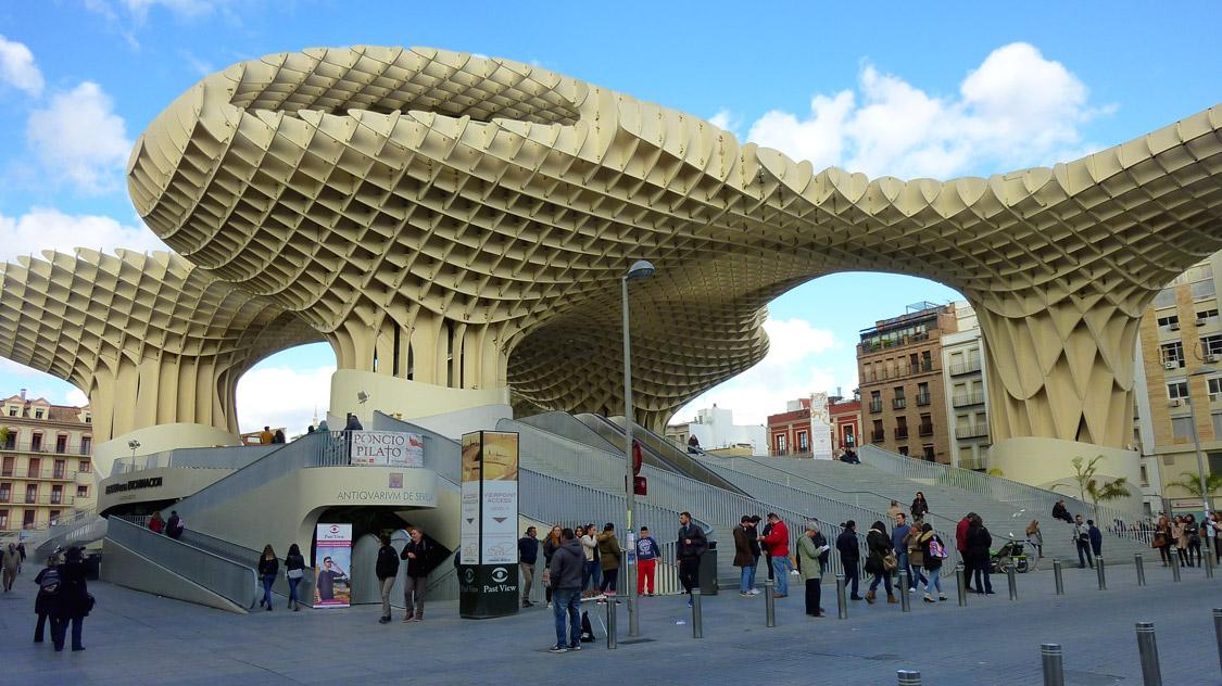 Las Setas (Metropol parasol) - Séville