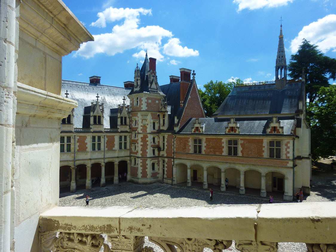 Aile gothique du château de Blois