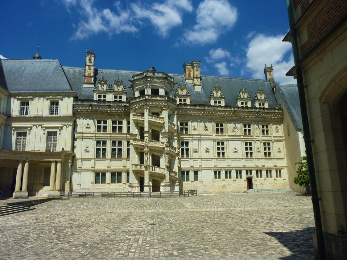 Chateau de blois - aile Renaissance de François Ier