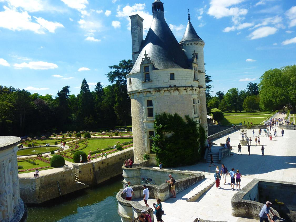 Château de Chenonceau - La tour des Marques