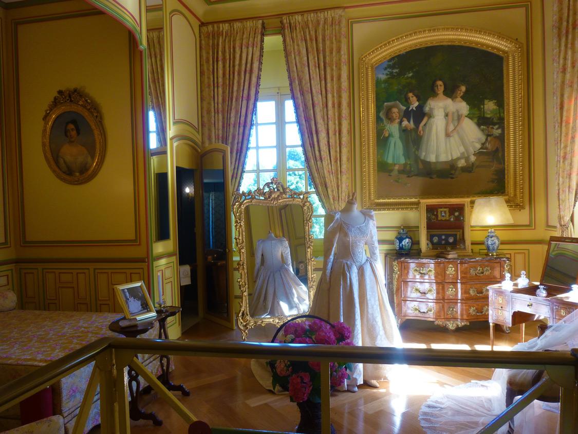 Intérieurs du château de Cheverny
