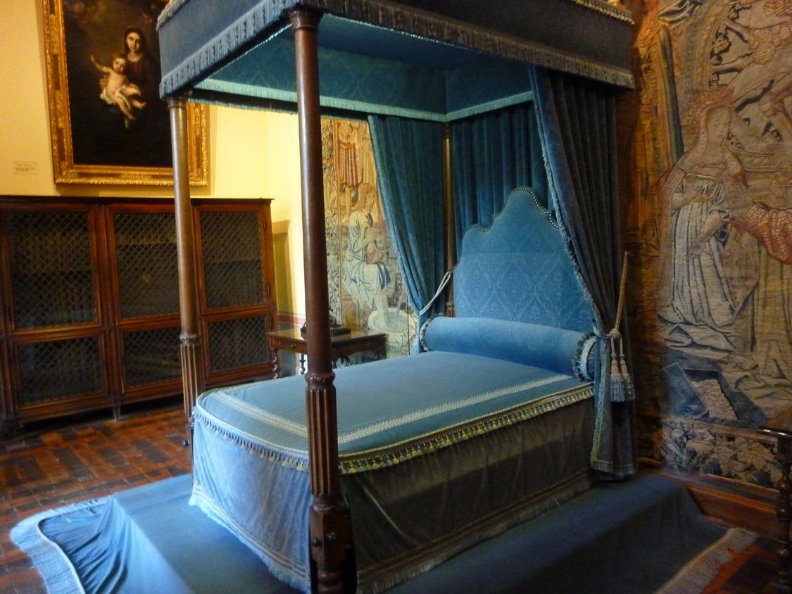 Lit de la favorite de Henri II, Diane de Poitiers