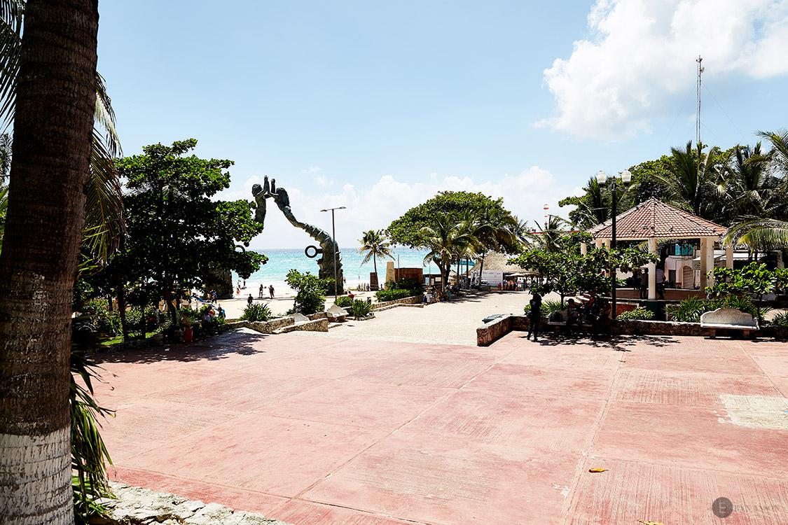 Parc los fundadores - Playa del Carmen- Mexique
