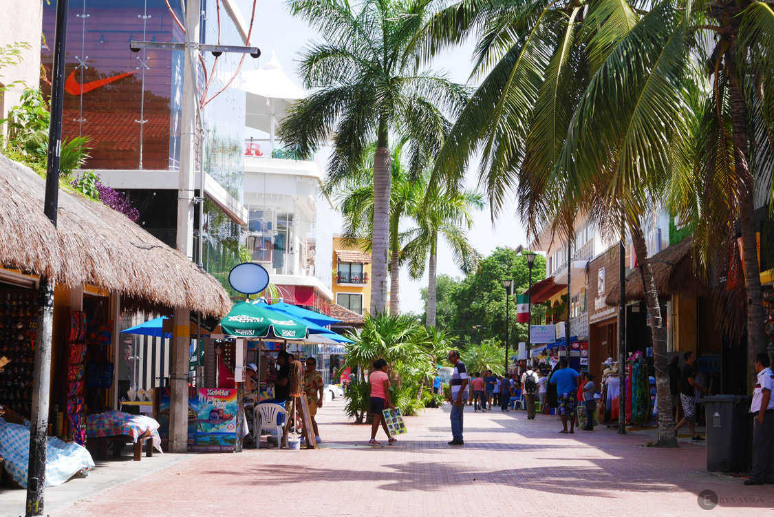 La quinta avenida - Playa del Carmen - Mexique
