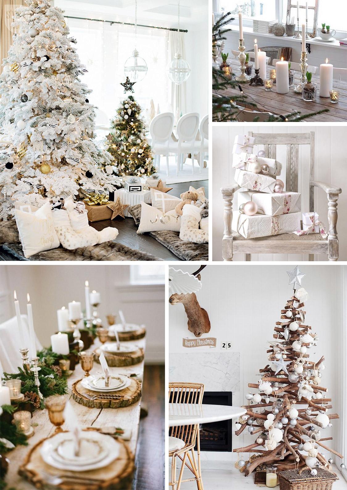 Déco de Noël : Ambiance chaleureuse avec du blanc
