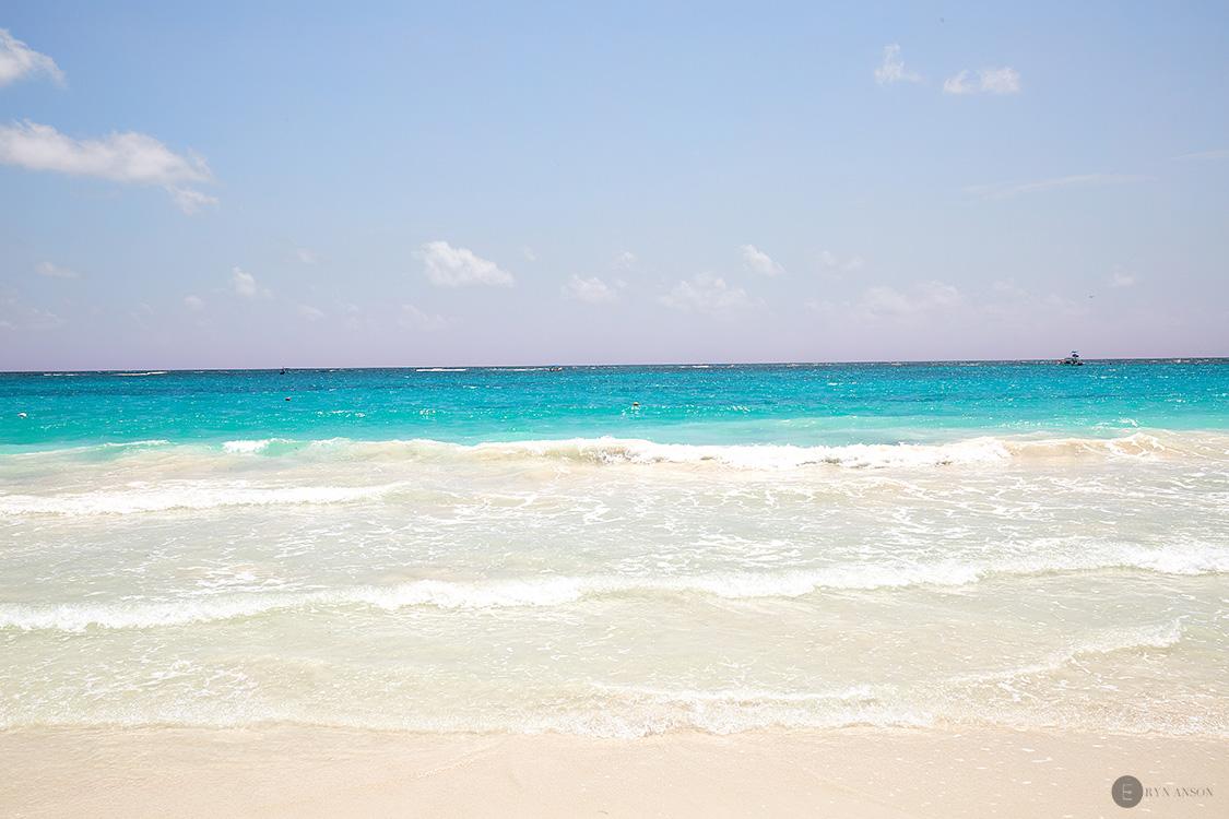 La plage El paraiso - Tulum, Mexique